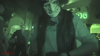 Chainsaw Chase (Nightvision HD) Halloween Horror Nights 2014 Universal Studios