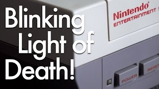 Fixing the NES Blinking Light of Death