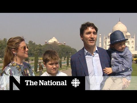 Trudeau talks trade, plays tourist in India