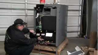 Empyre Elite, Wood/electric Hybrid Boiler..
