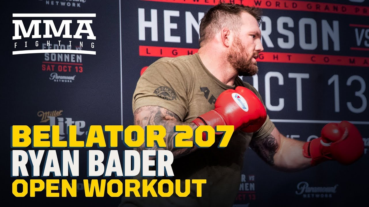 Ryan Bader Bellator 207 Workout Highlights - MMA Fighting