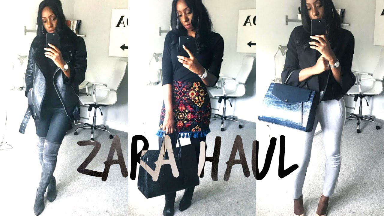 [VIDEO] - ZARA HAUL & LOOKBOOK PT 1   TRANSITIONAL SUMMER TO AUTUMN OFFICE OUTFITS & A GUCCI DUPE 2