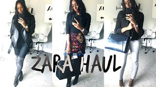 ZARA HAUL & LOOKBOOK PT 1 | TRANSITIONAL SUMMER TO AUTUMN OFFICE OUTFITS & A GUCCI DUPE