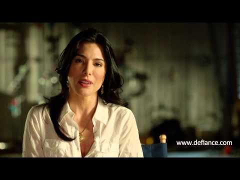 Defiance's Jaime Murray on Going Green