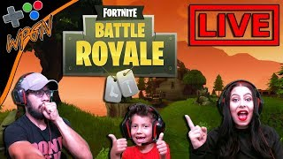 🔥 FAMILLE FORTNITE BATTLE ROYALE et Roblox?🔥 LIVE NOW 💙 (2-9-18)