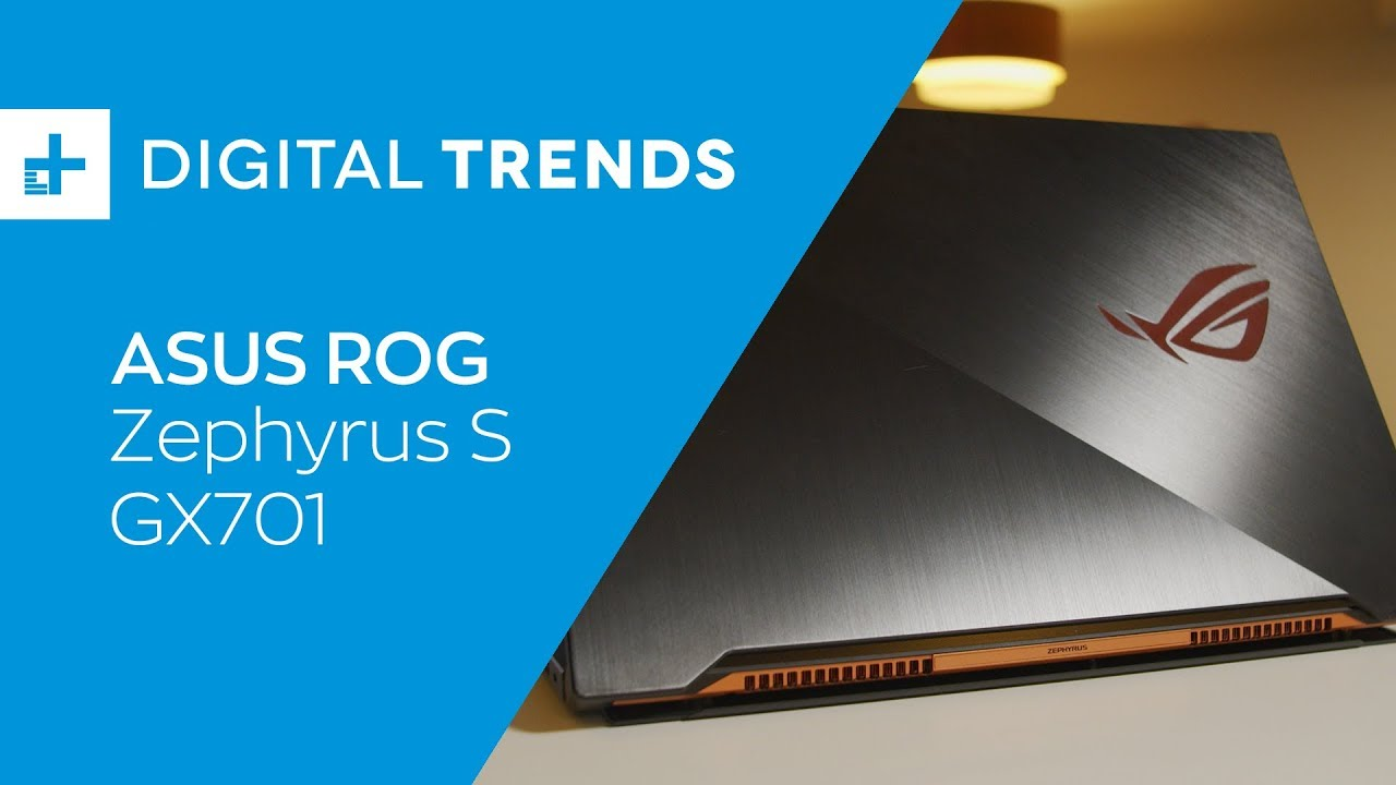Asus ROG Zephyrus S GX701 Review: Great at gaming, but not much else
