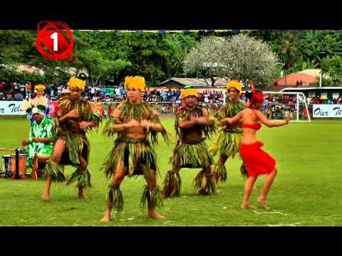 Nonahere - Tahitians performing during Solomon Islands Independence day