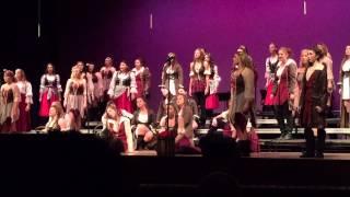 MHS finesse choir 2015