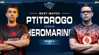 Heromarine vs Ptitdrogo TvP - Round of 8 - WCS Winter Europe