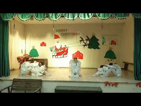 Рождественская постановка воспитанниц Вифанской школы для девочек.