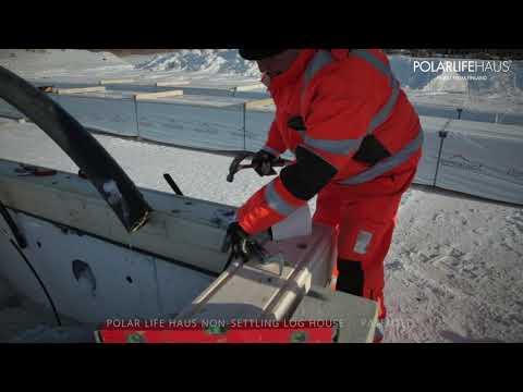 Polar Life Haus - Non Settling Log House (patented)