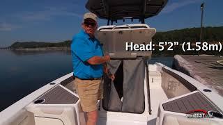Yamaha 210 FSH (2017-) Test Video - By BoatTEST.com
