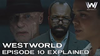 Westworld Season 2 Episode 10 Explained - Breakdown and Theories