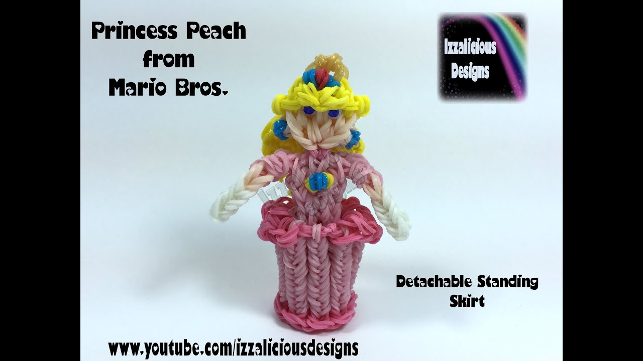 Doll modification: Peach | Mario crochet, Crochet super mario ... | 720x1280