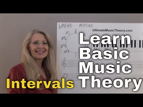 Intervals - Music Theory: Video Lesson 5