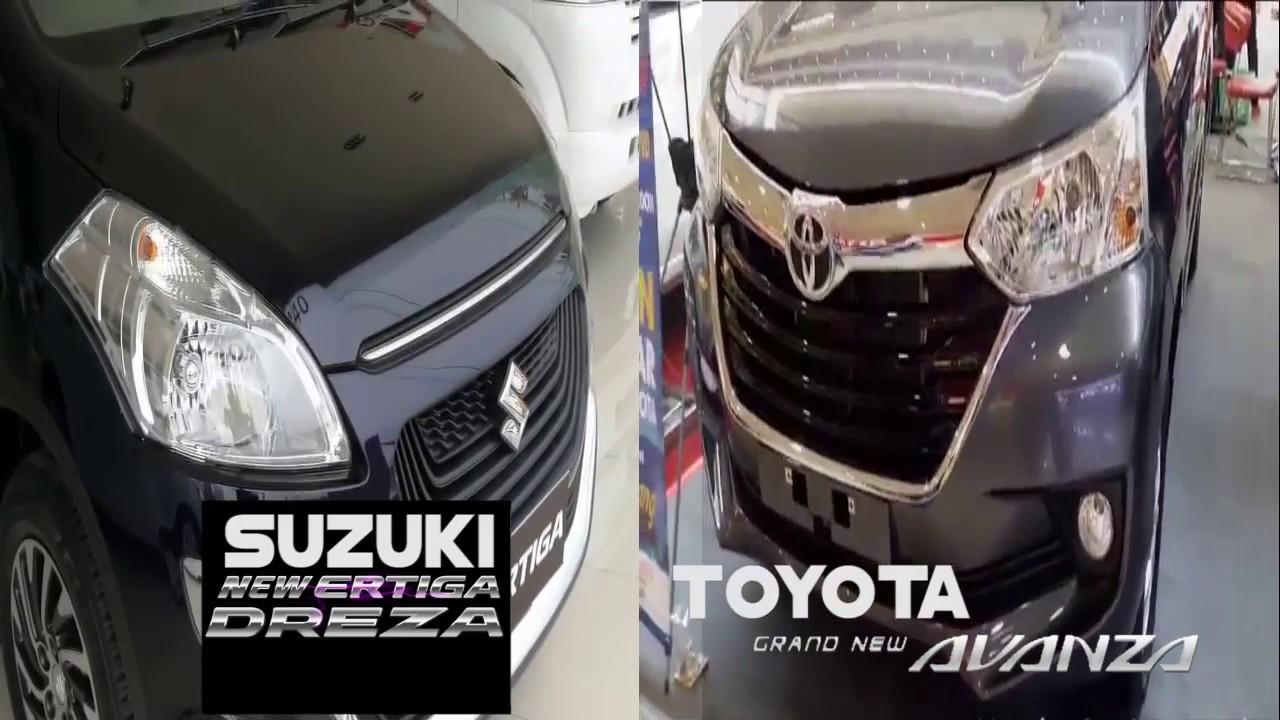 New Ertiga Vs Grand Veloz 1300 Bandingkan Eksterior Interior Toyota Avanza 2017 Suzuki Dreza