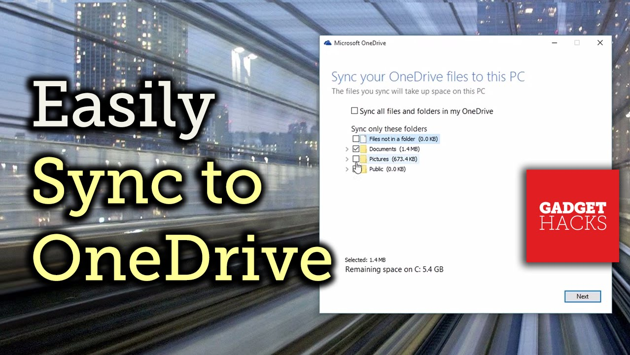 How to Set Up OneDrive to Sync Files Across All of Your Devices on
