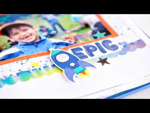 Super Duper Boy Stickers | Creative Memories Australia