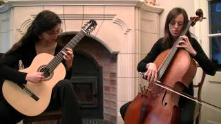 Canon in D -  Pachelbel (Cello-Guitar Duo)