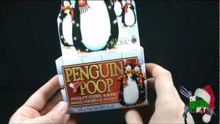 Christmas Spot - Penguin Poop Chocolate Covered Almonds
