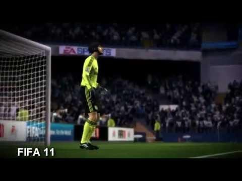 PES 2011 vs FIFA 11 Trailer
