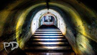 Ghost Encounter Deep Underground In HAUNTED Catacombs - Tunnels Below Graveyard