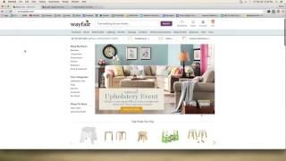 Using Wayfair.com as Retail ebay Drop Shipping Supplier