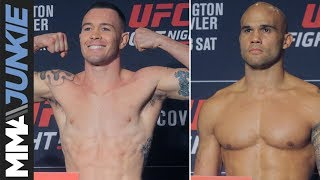 UFC on ESPN 5 headliners Colby Covington, Robbie Lawler make weight
