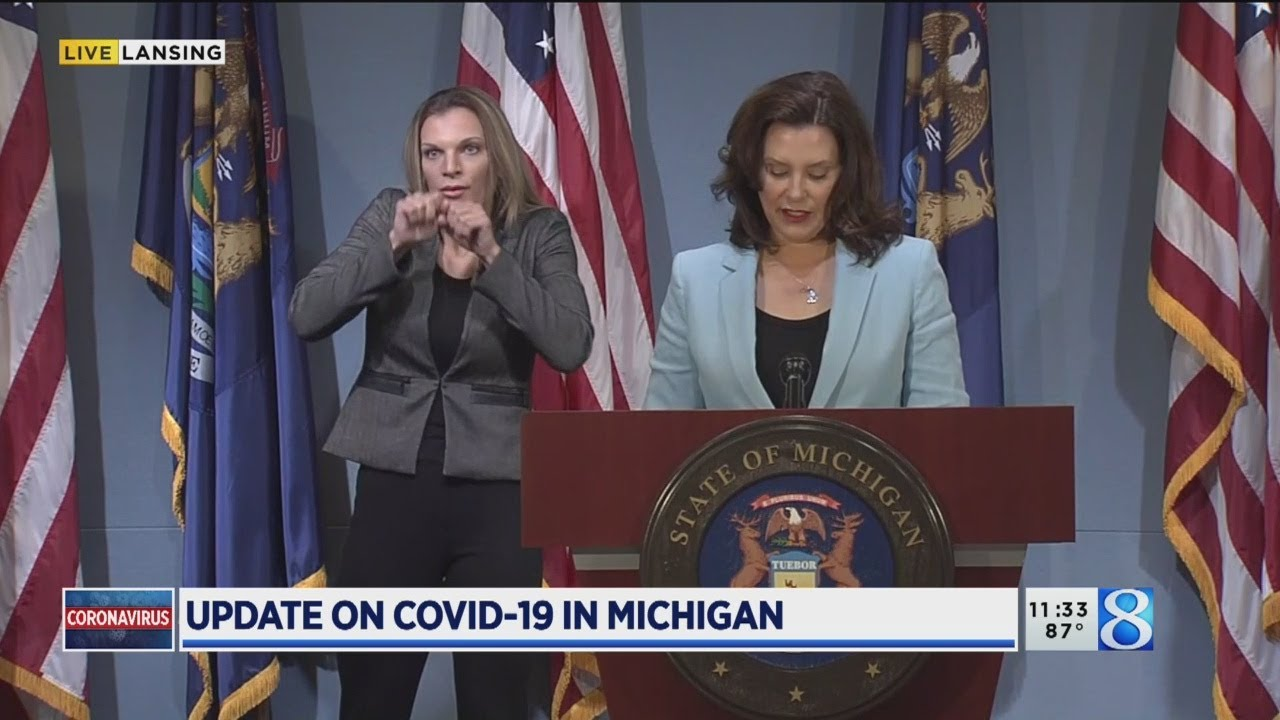 Full News Conference Gov Whitmer On Covid 19 July 9 2020 Youtube