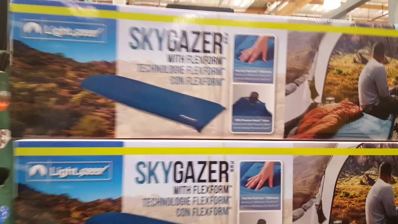Camping bed costco - Costco Skygazer Camping Air Mattress 35