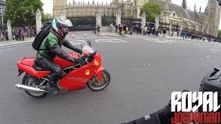 BMW S1000Rs accidental ride with a Ducati Supersport 750