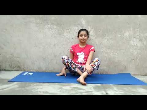 yoga poses for kids and beginners from little girl anika