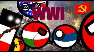 Первая Мировая Война / Country Balls