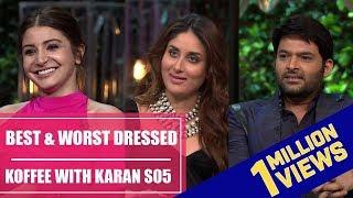 Anushka Sharma, Kareena Kapoor, Kapil Sharma: Koffee with Karan S05 best and worst dressed 2017