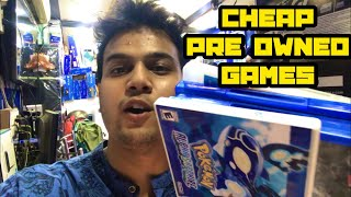 Buying Pre Owned games for Nintendo 3Ds, Ps4 , ps3 || Cricket 2019 pre booking ||