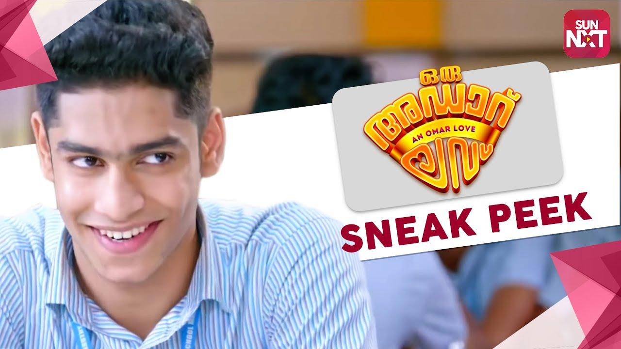 Download Oru Adaar Love - Best Scene   Sneak Peek   Full Movie on SunNXT   Roshan   Priya Varrier   2019