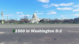 What $1500 a month for Rent gets you in Washington D.C