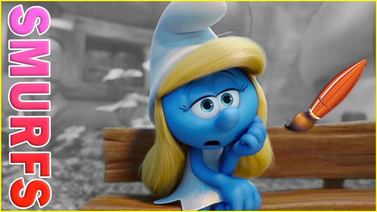 Smurfette Is Bored