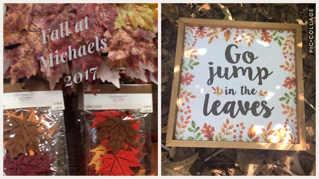 michaels fall and halloween decor shop with me 2017 - Michaels Halloween Decor