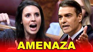 Podemos AMENAZA a Pedro Sánchez