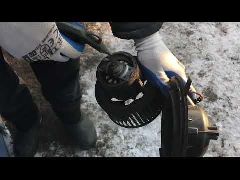 Снятие и чистка вентилятора печки на Пассат Б6 #Passat B6