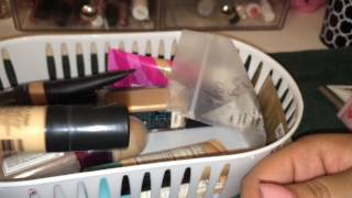 Declutter with me: primers,foundations