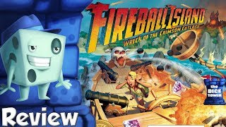 Fireball Island: Wreck of the Crimson Cutlass Review - with Tom Vasel Video