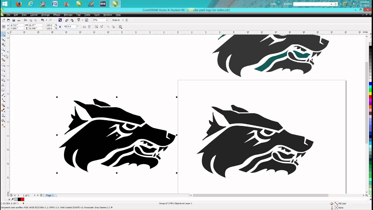 Corel draw clipart images - Corel Draw Tips Tricks Bitmaps And Trace Help