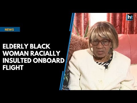 Elderly black woman racially insulted onboard Ryanair flight