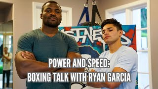 Power And Speed: Boxing Talk With Ryan Garcia