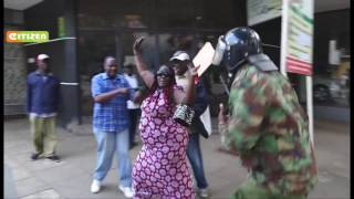 Police lob teargas to disperse anti-IEBC demonstrators