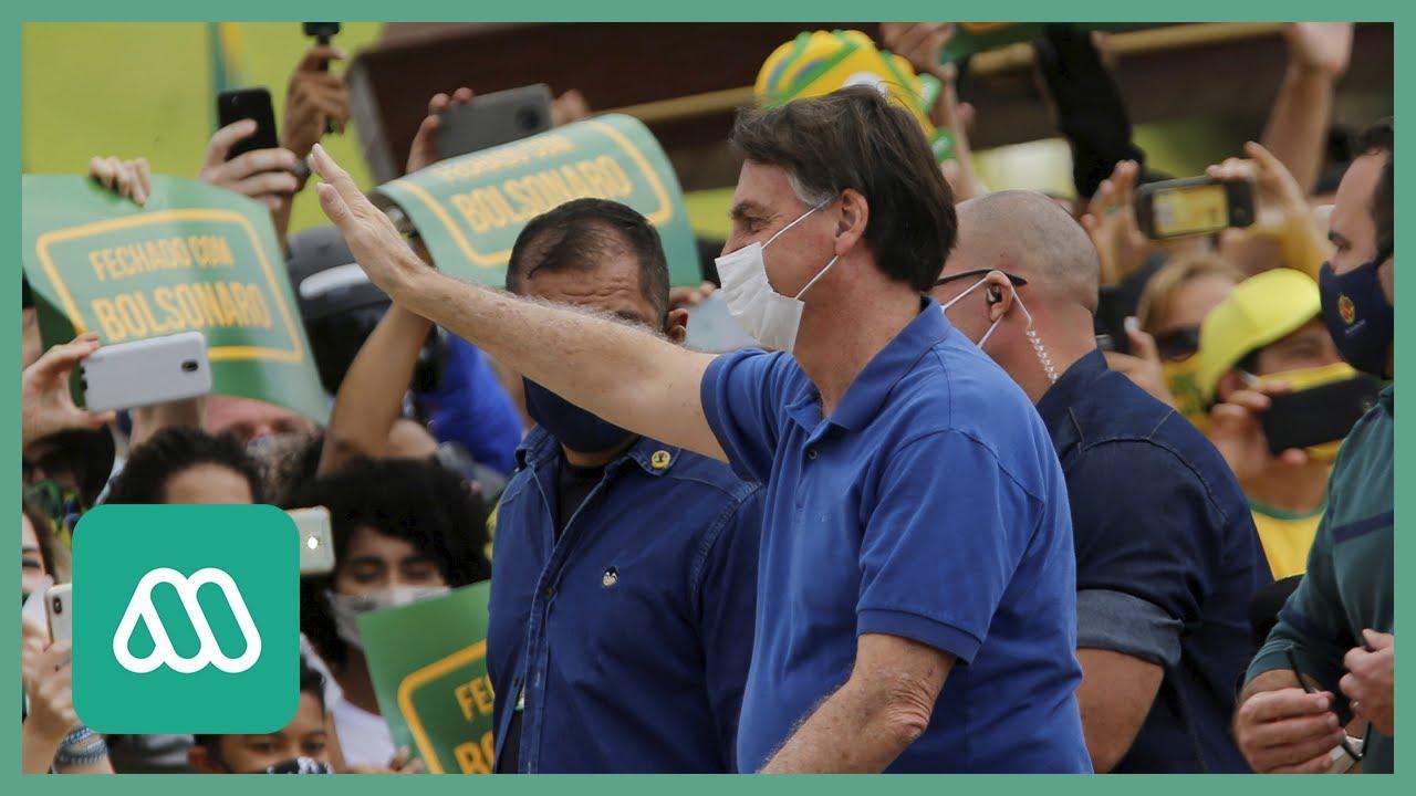Coronavirus Brasil | Bolsonaro ataca medidas de confinamiento mientras sube el número de contagiados
