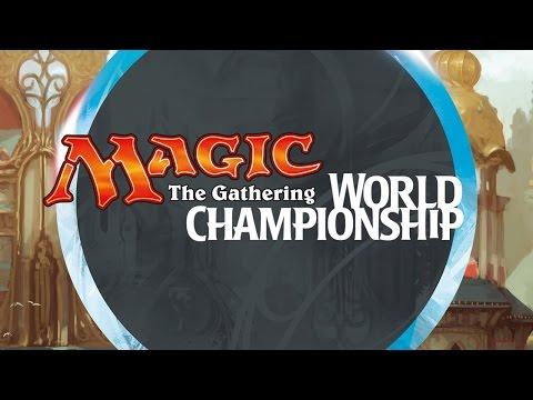 2016 Magic World Championship Round 14 (Modern): Márcio Carvalho vs. Oliver Tiu