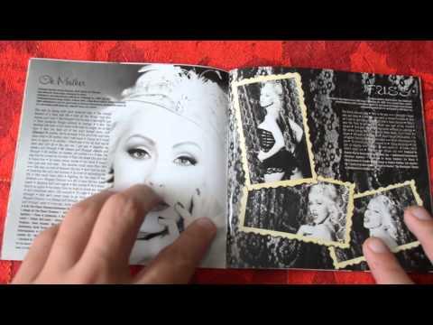 Christina Aguilera - Back To Basics  CD UNBOXING 